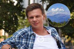 Путешественник Комаров назвал свое любимое место в Украине
