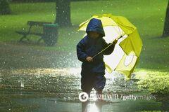 В Украине прогнозируют дождь