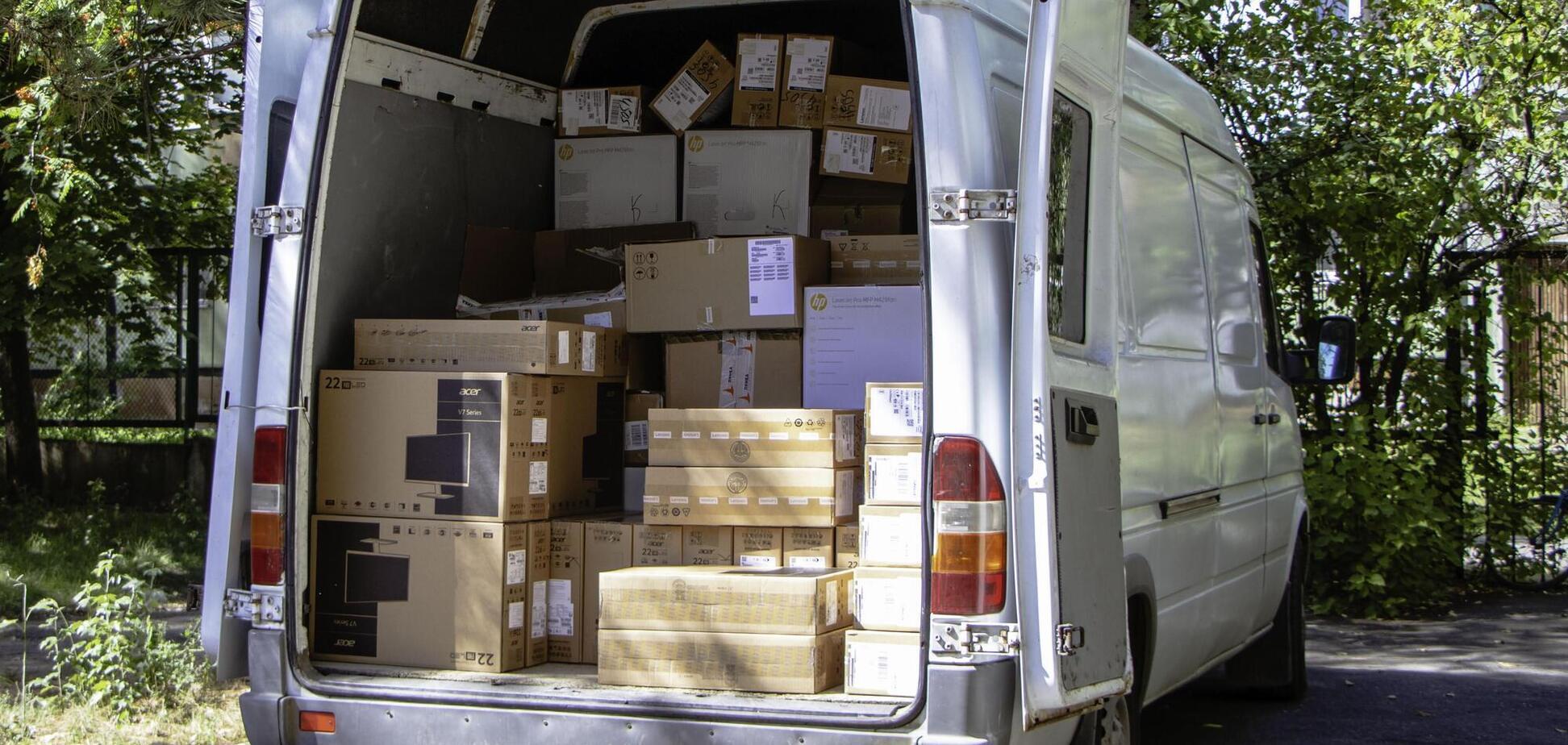 В управление соцзащиты в Днепре завезли новые комплекты оборудования