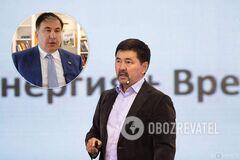 Членом команды Саакашвили стал миллионер из Казахстана Маргулан Сейсембай
