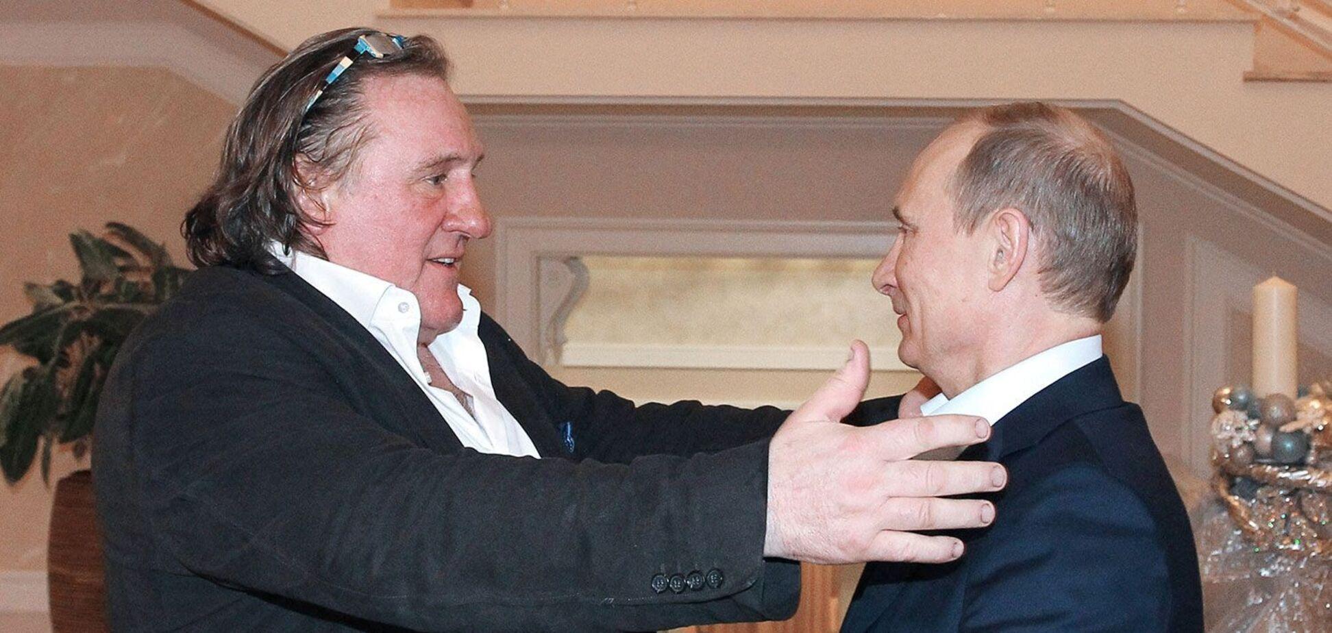 Депардье рассказал о дружбе с Путиным