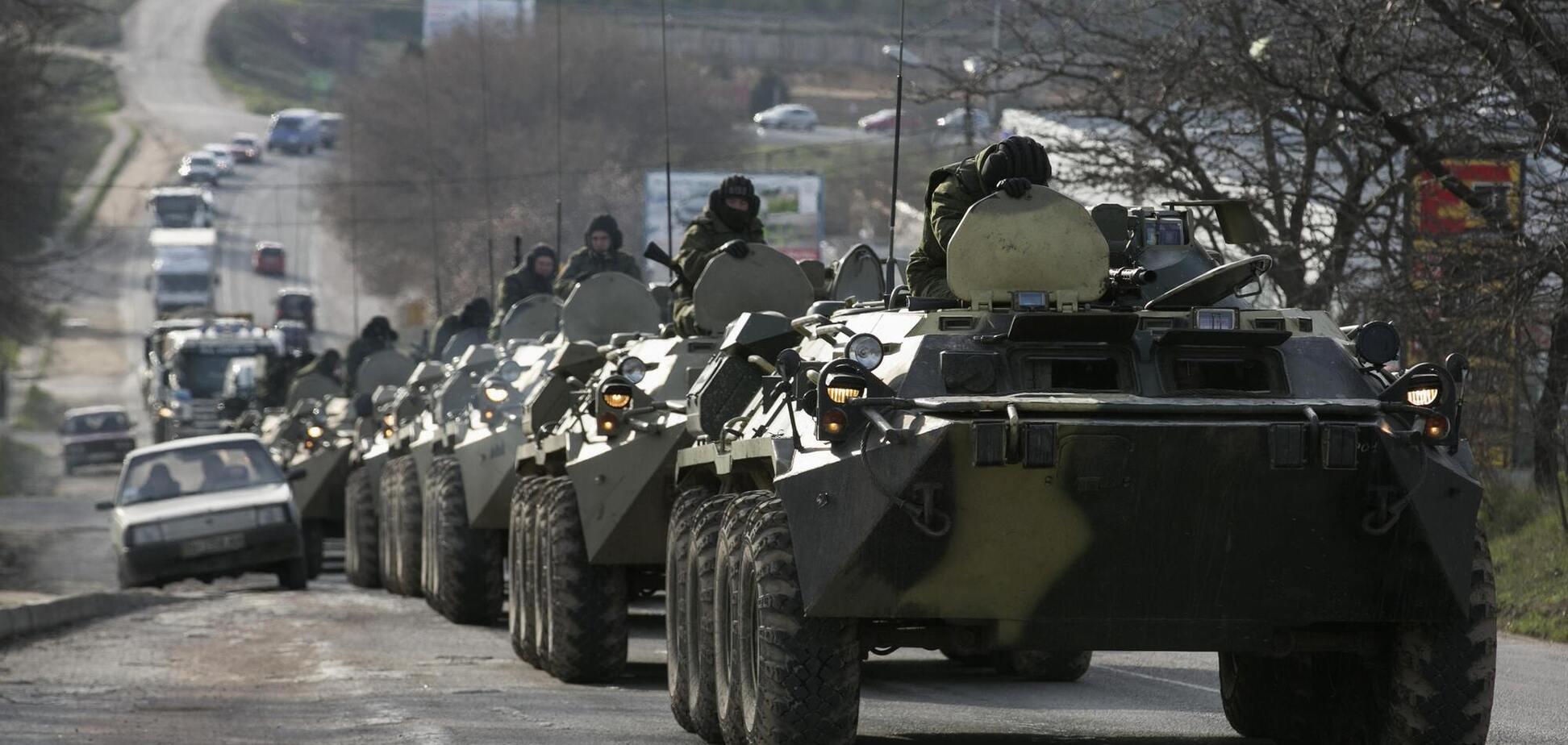 Разведка узнала, что Россия стянула технику на Донбасс