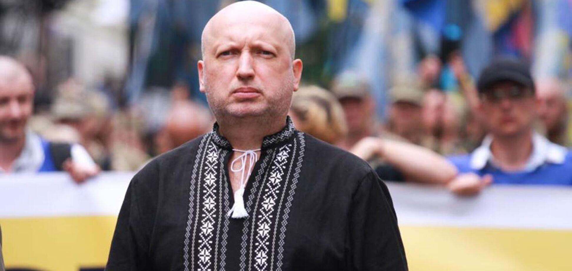 Александр Турчинов сообщил, что 'ЕС' получила один из лучших результатов среди политических сил