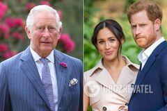 Принц Чарльз перестал давать деньги Гарри и Маркл