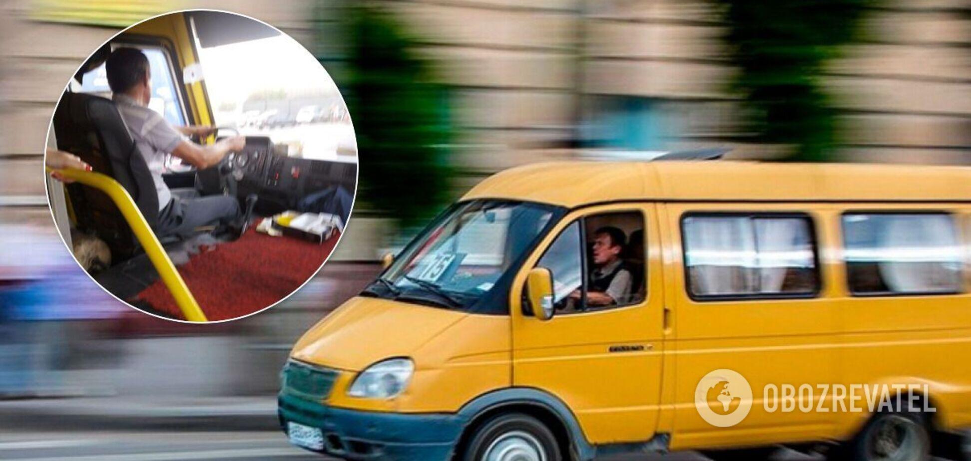У Дніпрі маршрутник протягнув затиснуту в дверях пасажирку. Фото