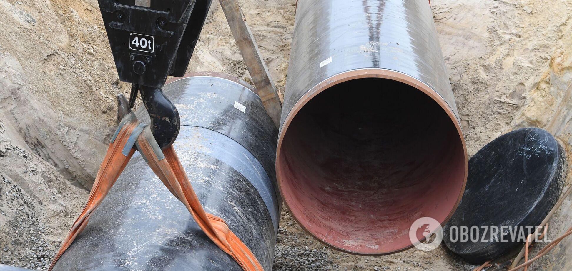 Строительство газопровода 'Северный поток-2'