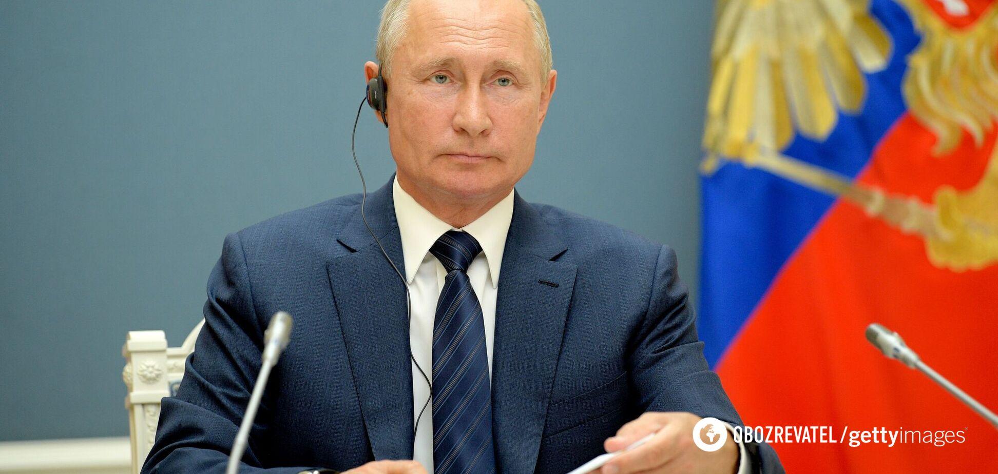 Путін відмінив пряму лінію, бо немає чим звітувати