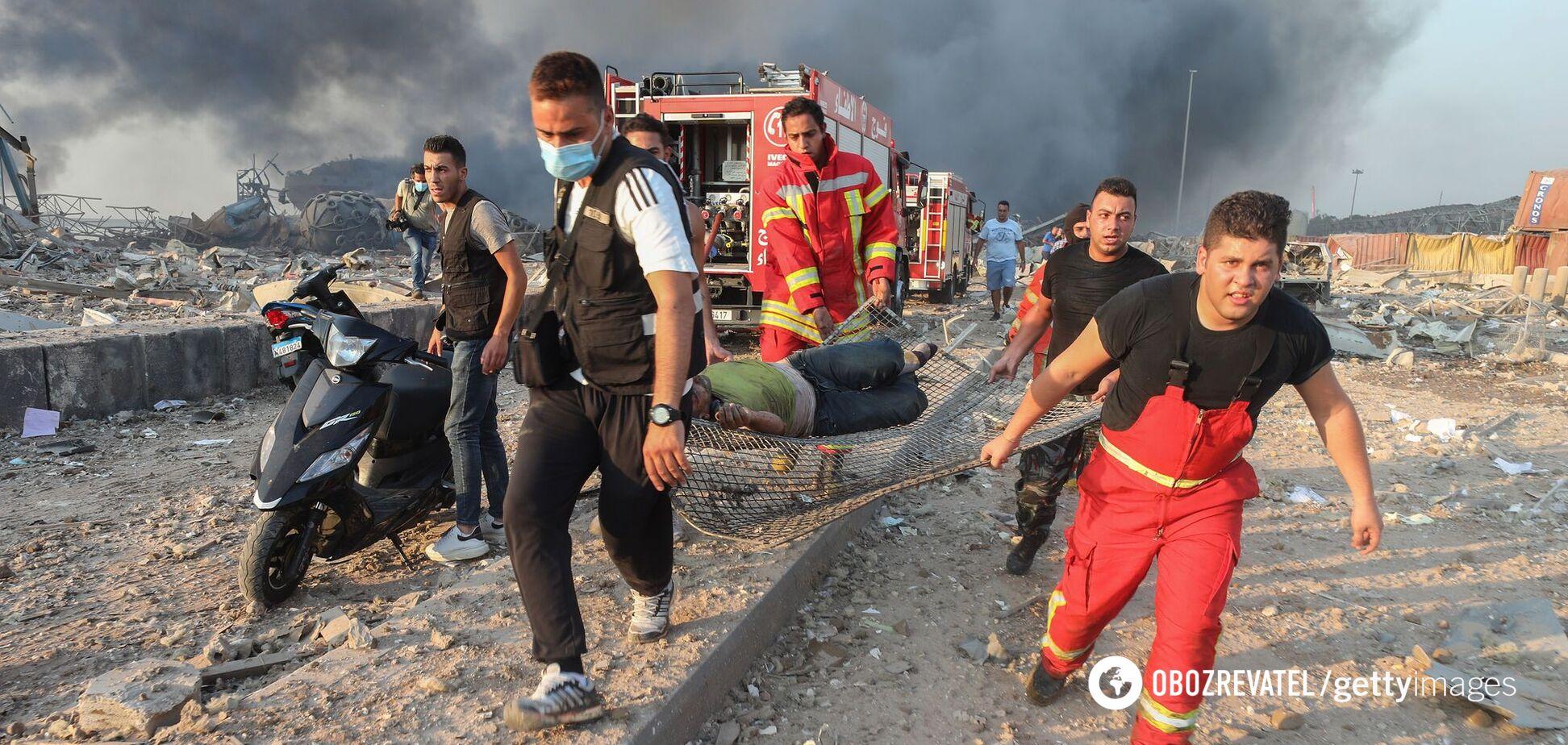 Многие раненые еще остаются в зоне поражения