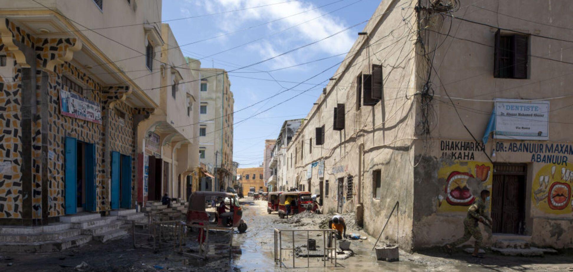 Місто Могадішо в Сомалі