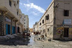 Город Могадишо в Сомали