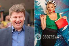 Дмитрий Губерниев и Анна Семенович