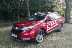 Шесть литров на 'сотню': тестируем Honda CR-V Hybrid