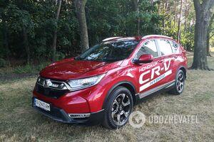 Шість літрів на 'сотню': тестуємо Honda CR-V Hybrid