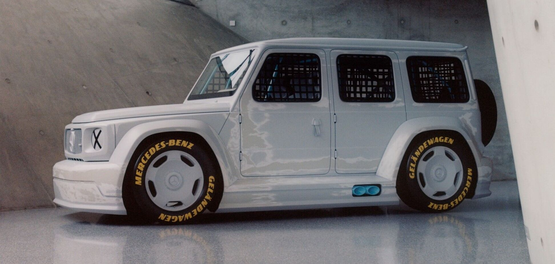 Mercedes G-class наділили незвичайною зовнішністю. Фото: Mercedes-Benz