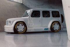 Mercedes G-class наделили необычной внешностью. Фото: Mercedes-Benz