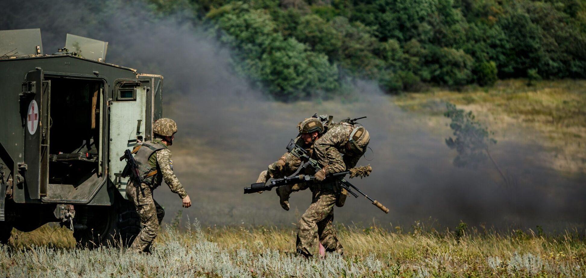 На Донбассе получили ранения военные ВСУ