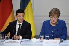 Владимир Зеленский и Ангела Меркель проведут телефонный разговор