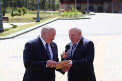 Посол РФ подарил Лукашенко карту Беларуси в Российской империи