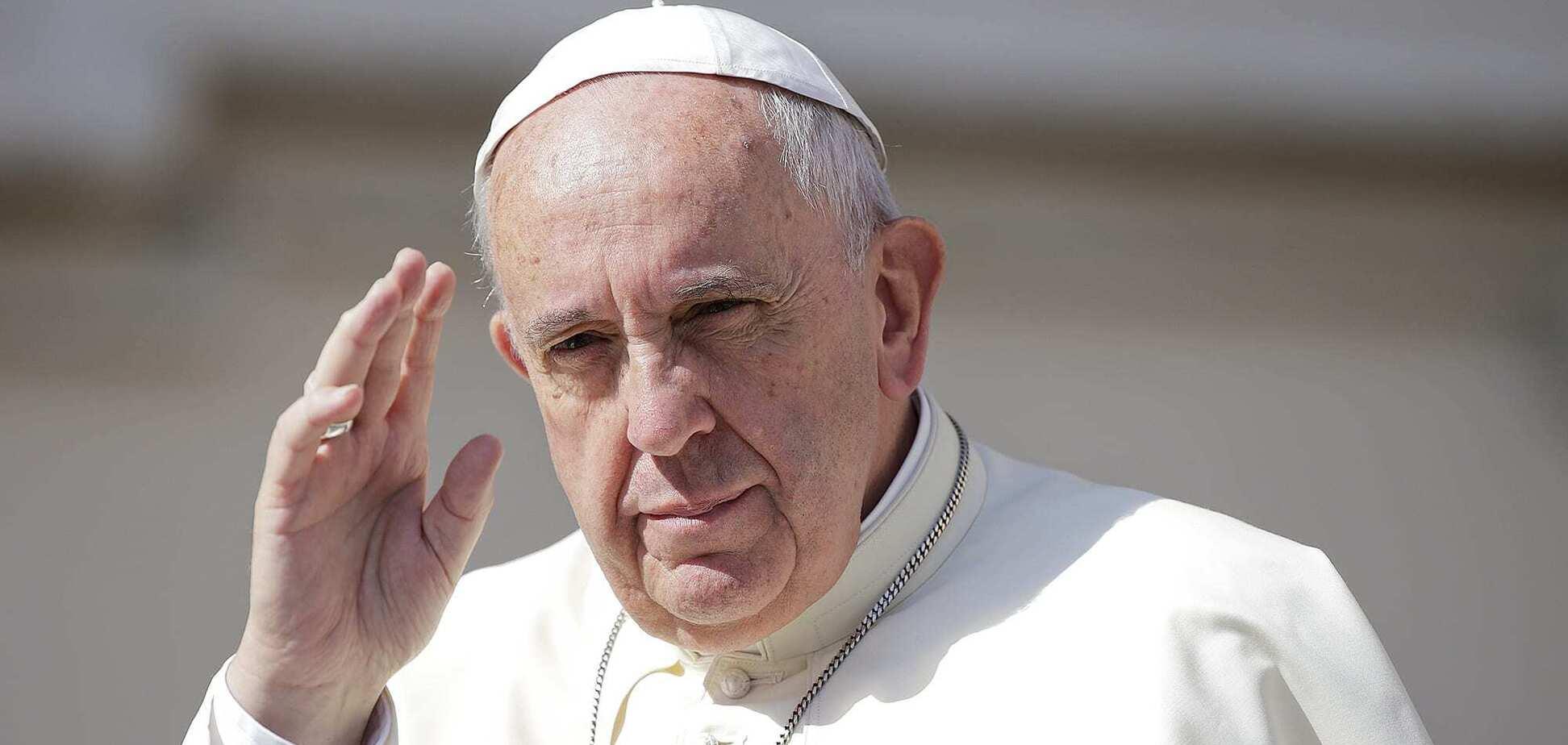 Папа Римський підтримав одностатеві пари