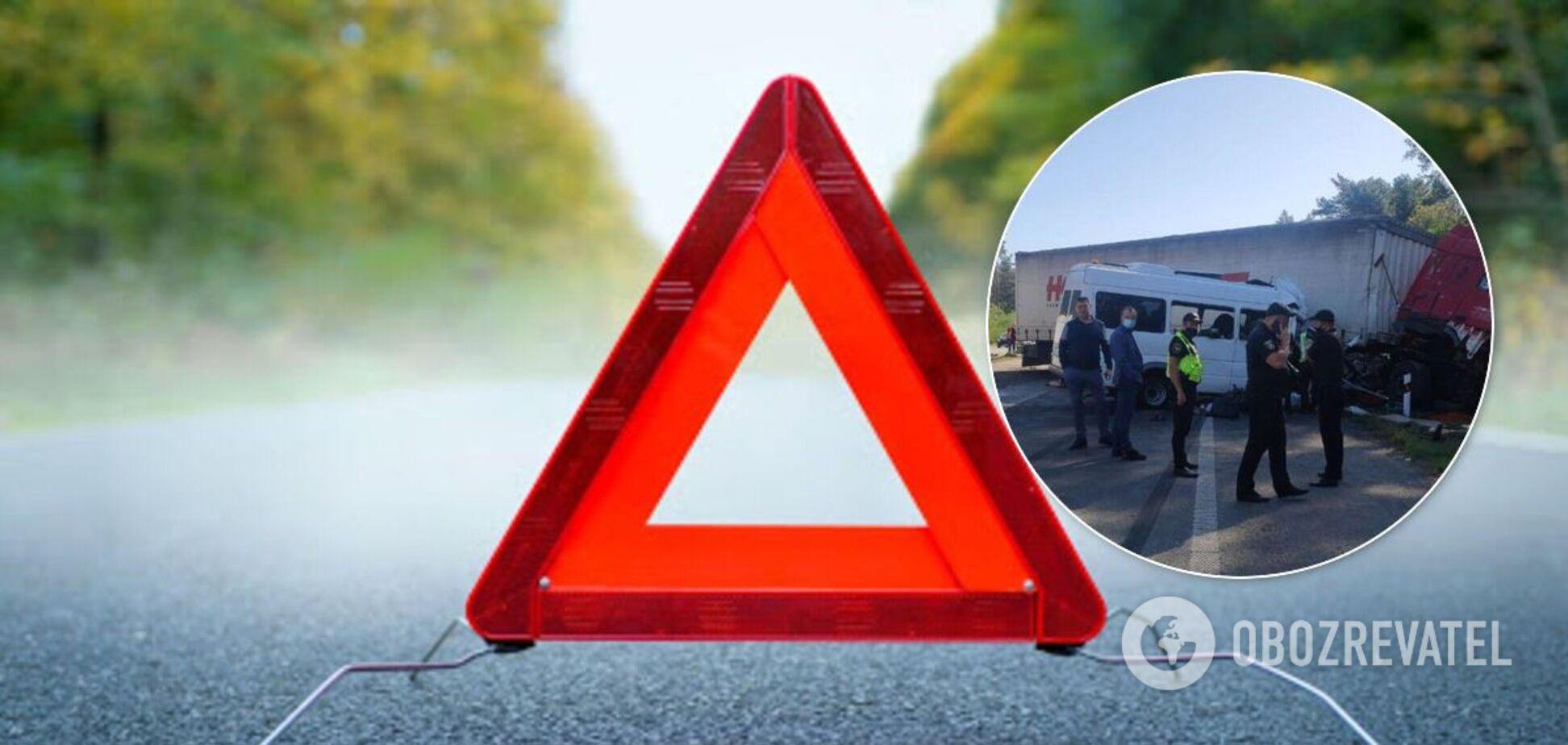 ДТП вблизи Борисполя унесло жизни пяти человек