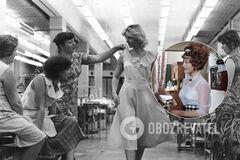При СССР женщины носили под платьями комбинации