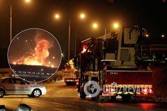 Взрыв в Иордании на складе боеприпасов
