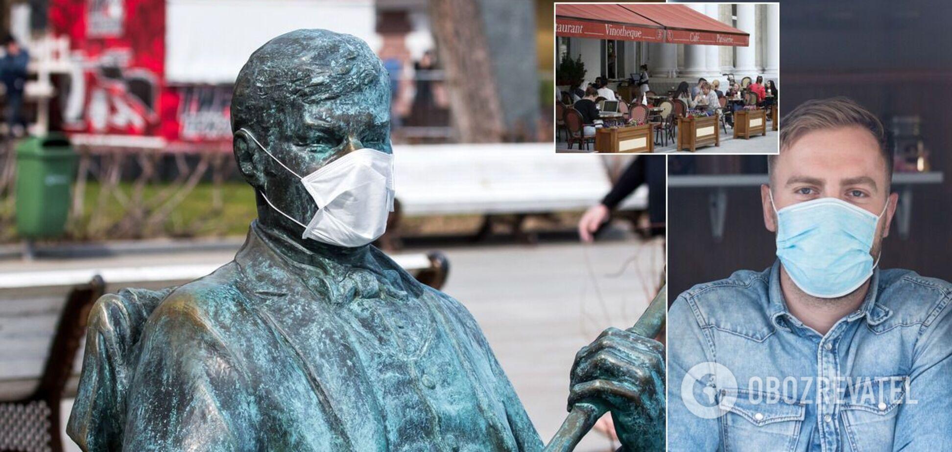 Киев отнесли к 'оранжевой' зоне карантина