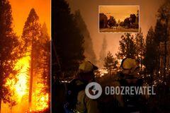Пожары в США усилились