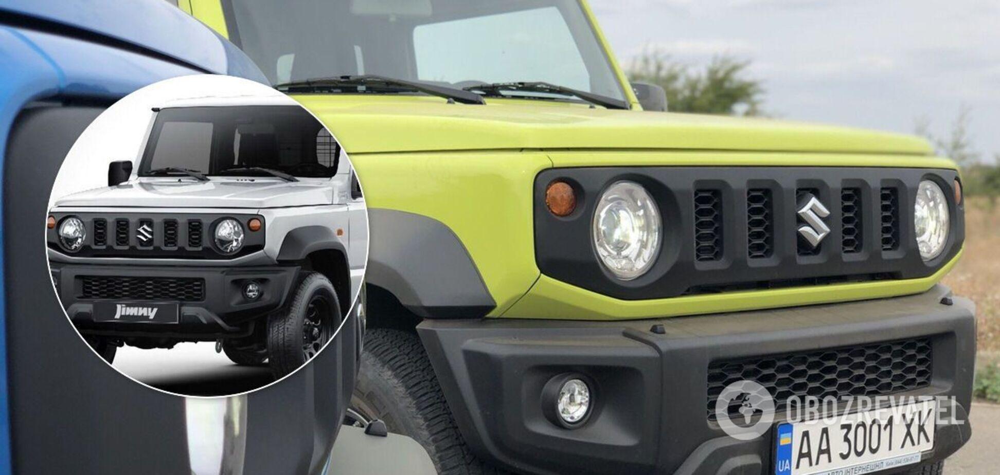 Suzuki Jimny перетворили на вантажівку, щоб уникнути штрафу