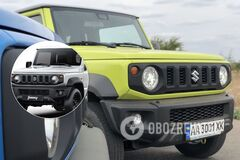 Suzuki Jimny превратили в грузовик, чтобы избежать штрафа