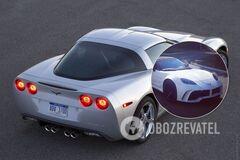 Украинское тюнинг-ателье модифицировало Chevrolet Corvette