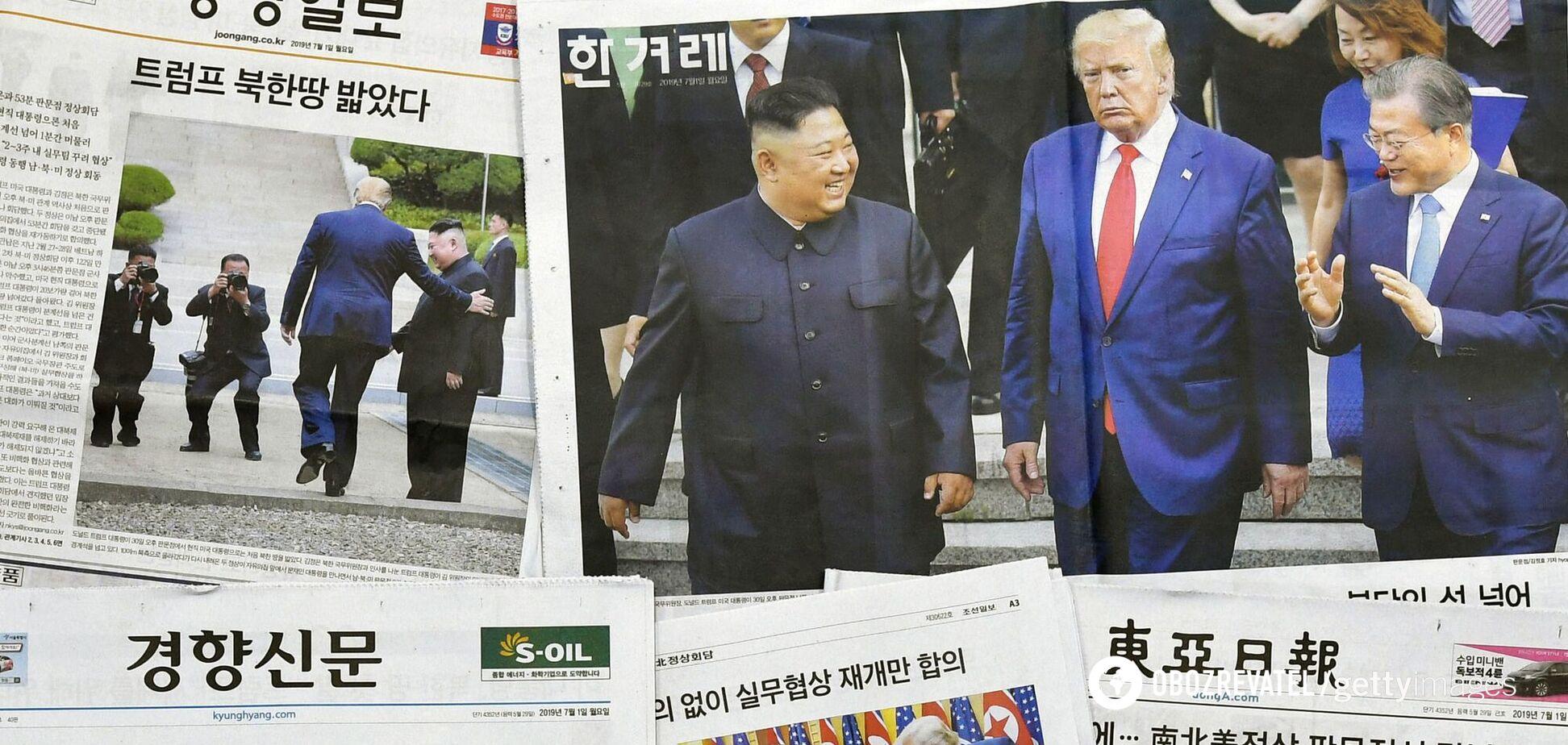 Лідер КНДР не може забути, як тиснув руку президенту США