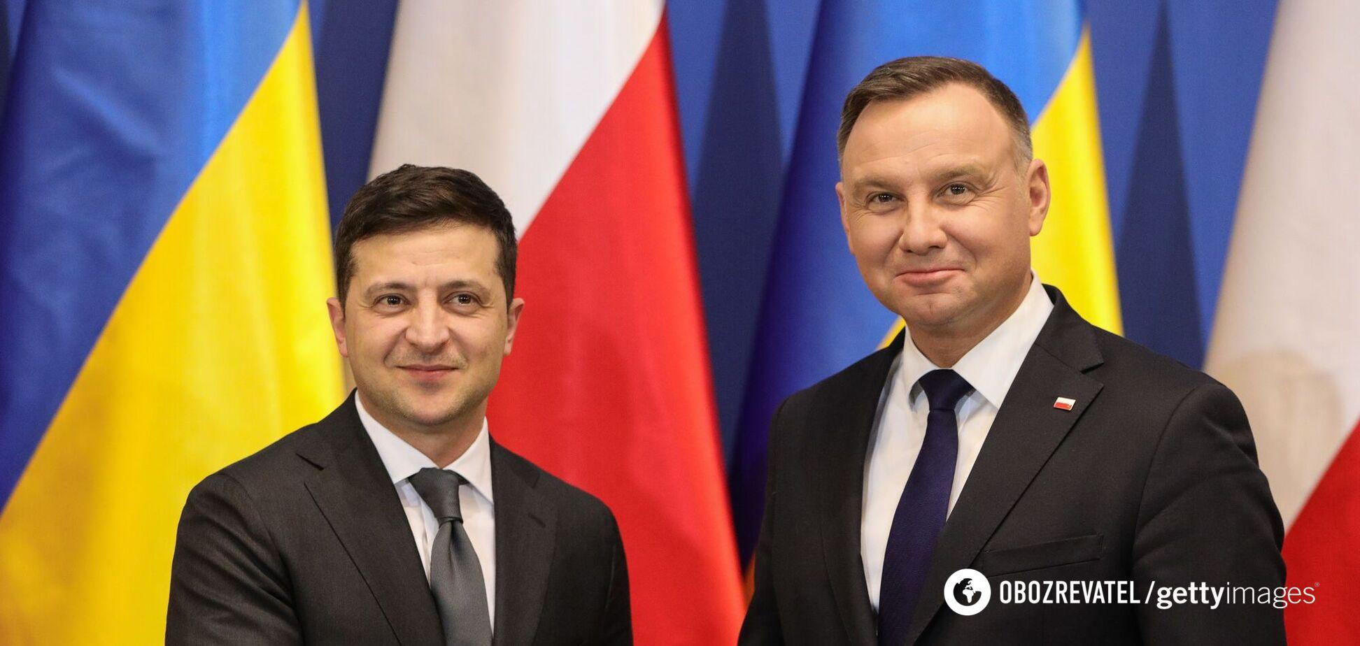 Владимир Зеленский и Анджей Дуда. Архивное фото