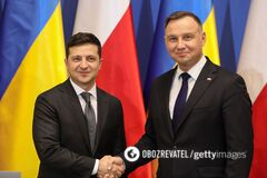 Президент Украины провел телефонный разговор с президентом Польши