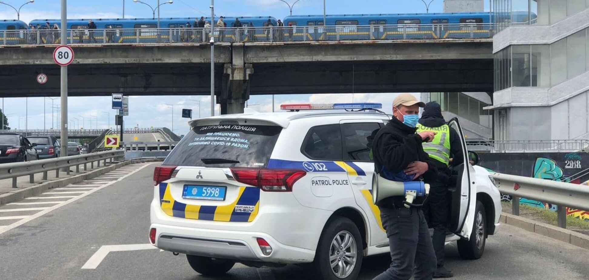 Прокуратура надіслала до суду матеріали справи про мінування моста в Києві