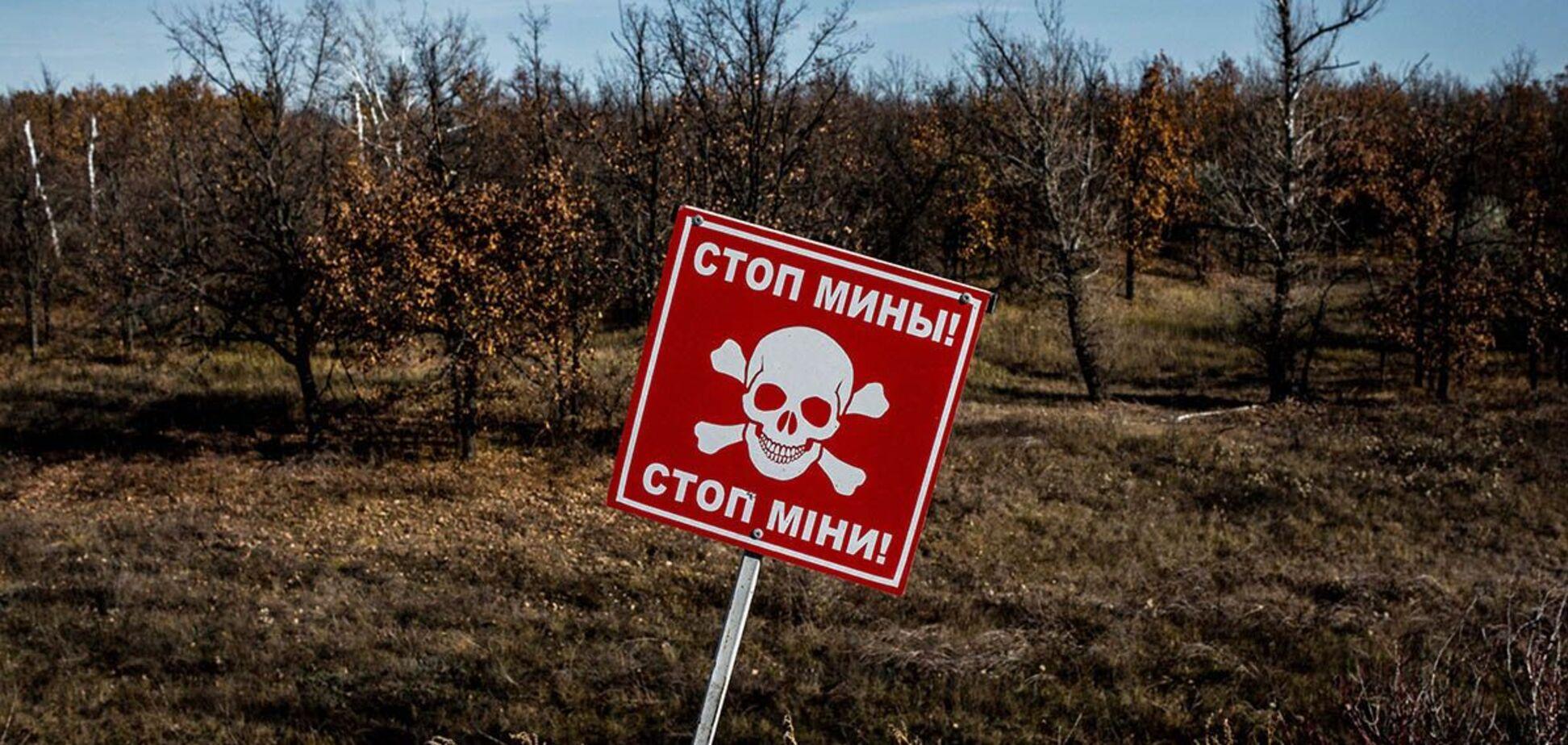 Террористы на Донбассе прибегли к минированию дорог