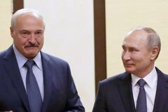 Путин и Лукашенко якобы ненавидят друг друга