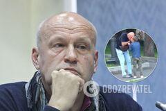 Олега Рибачука звинуватили в побитті онука
