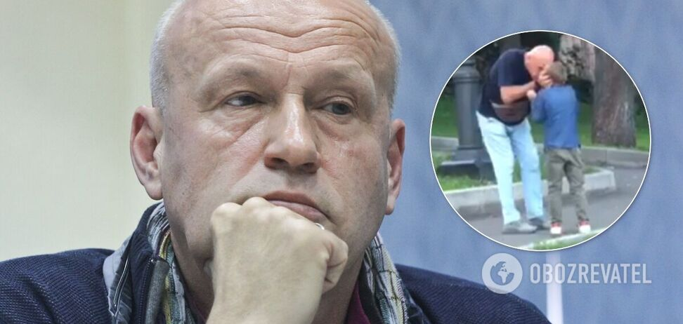 Олега Рыбачука обвинили в избиении внука