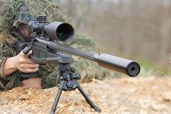 Снайпер террористов засветился на камерах ВСУ