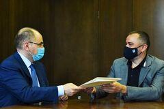 Максим Степанов и Андрей Павелко