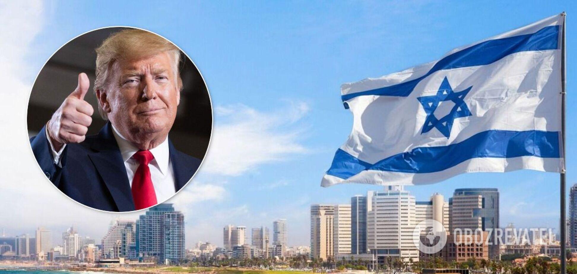 Ізраїль і Трамп