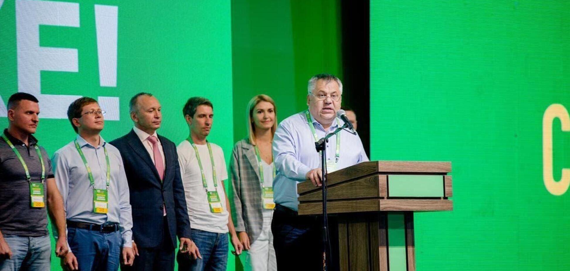 На форумі 'Слуг народу' в Запоріжжі помітили політтехнологів, обвинувачених у сепаратизмі