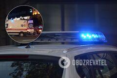 В центре Киева произошло ДТП