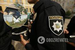 ДТП в Черновцах с полицейским