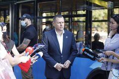 В Днепре запустили новую троллейбусную ветку на жилой массив Приднепровск. фото