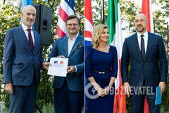 Украина стала полноправной участницей 'Партнерства Биарриц'