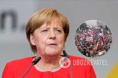 Меркель – о протестах против Лукашенко: стремление к демократии растоптано ногами