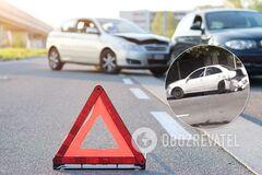 Повреждено авто BMW E39, Fiat 131 и Nissan Almera