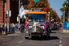 Впервые в Днепре на День города состоялся парад коммунальной техники